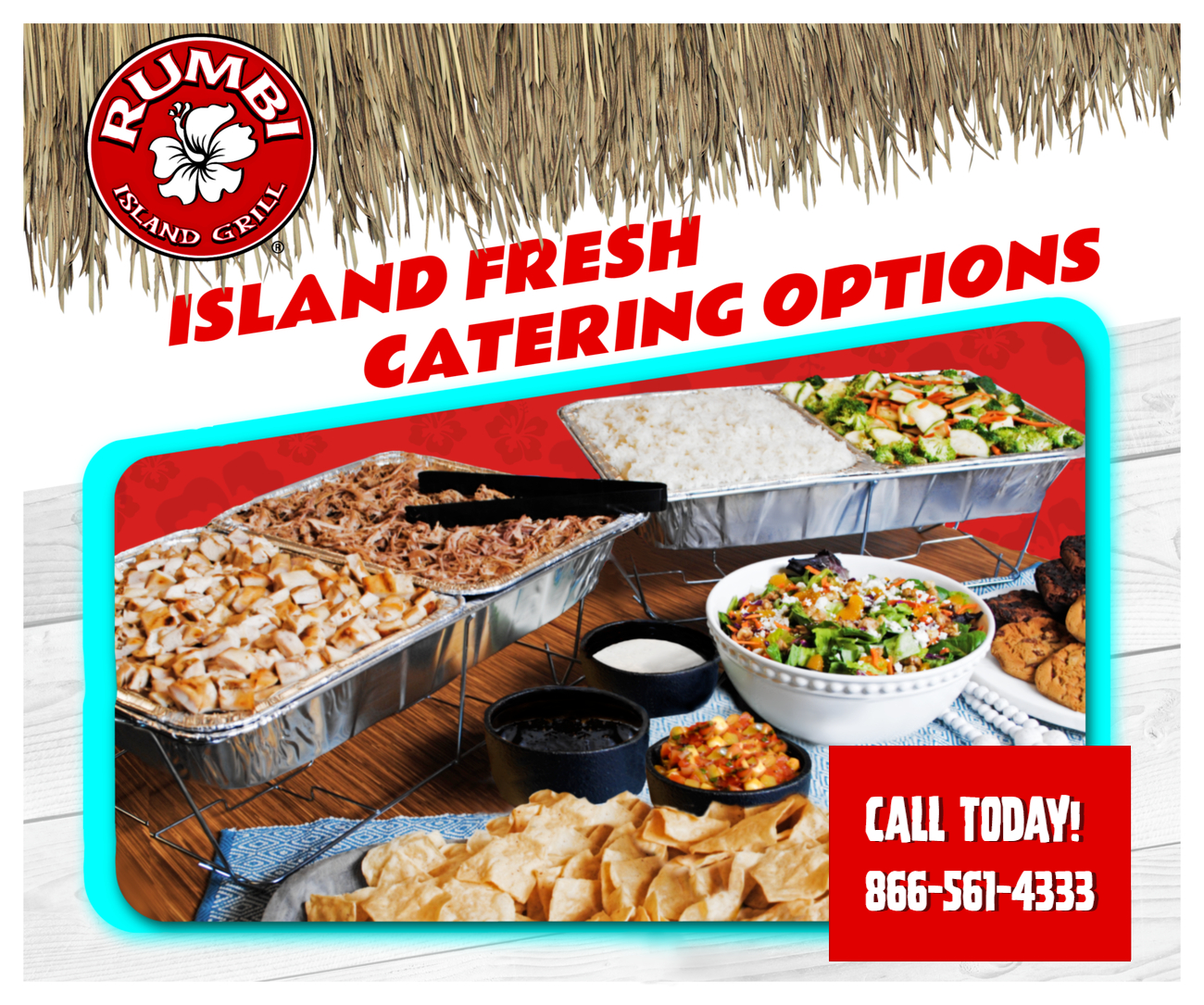 Rumbi Island Grill Catering